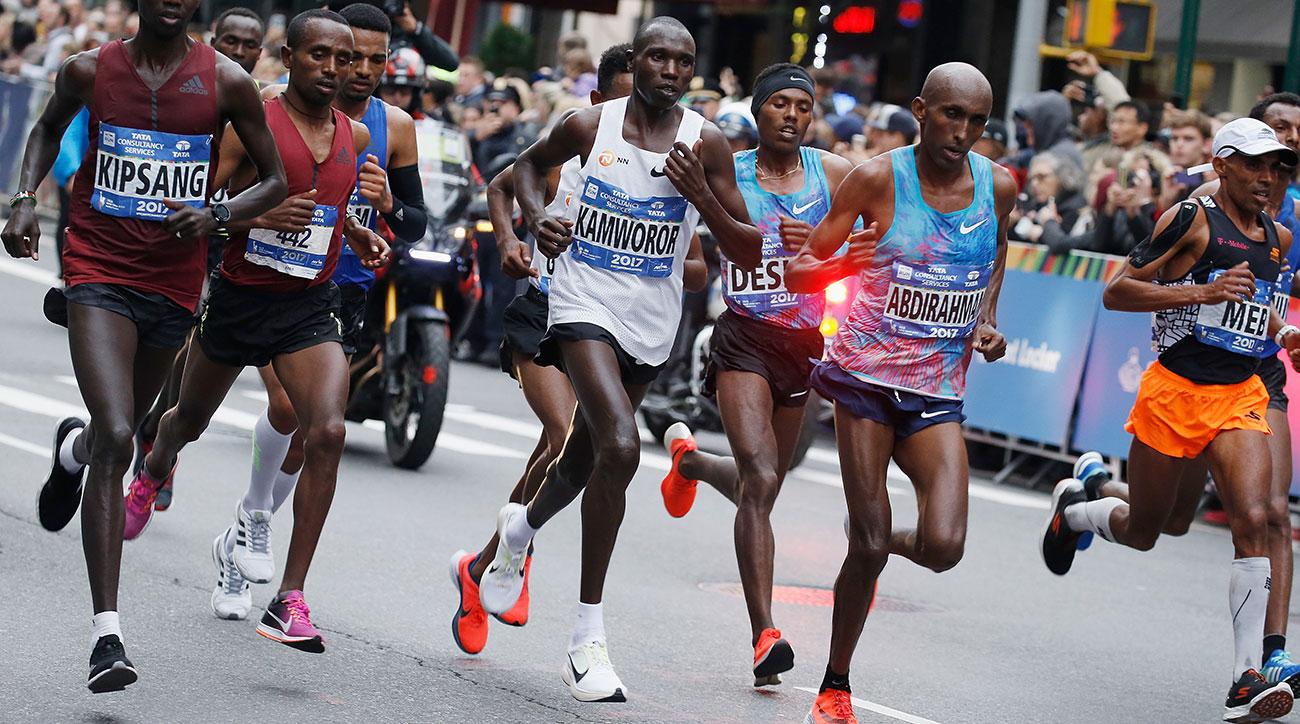geoffrey kamworor 2018 new york city marathon