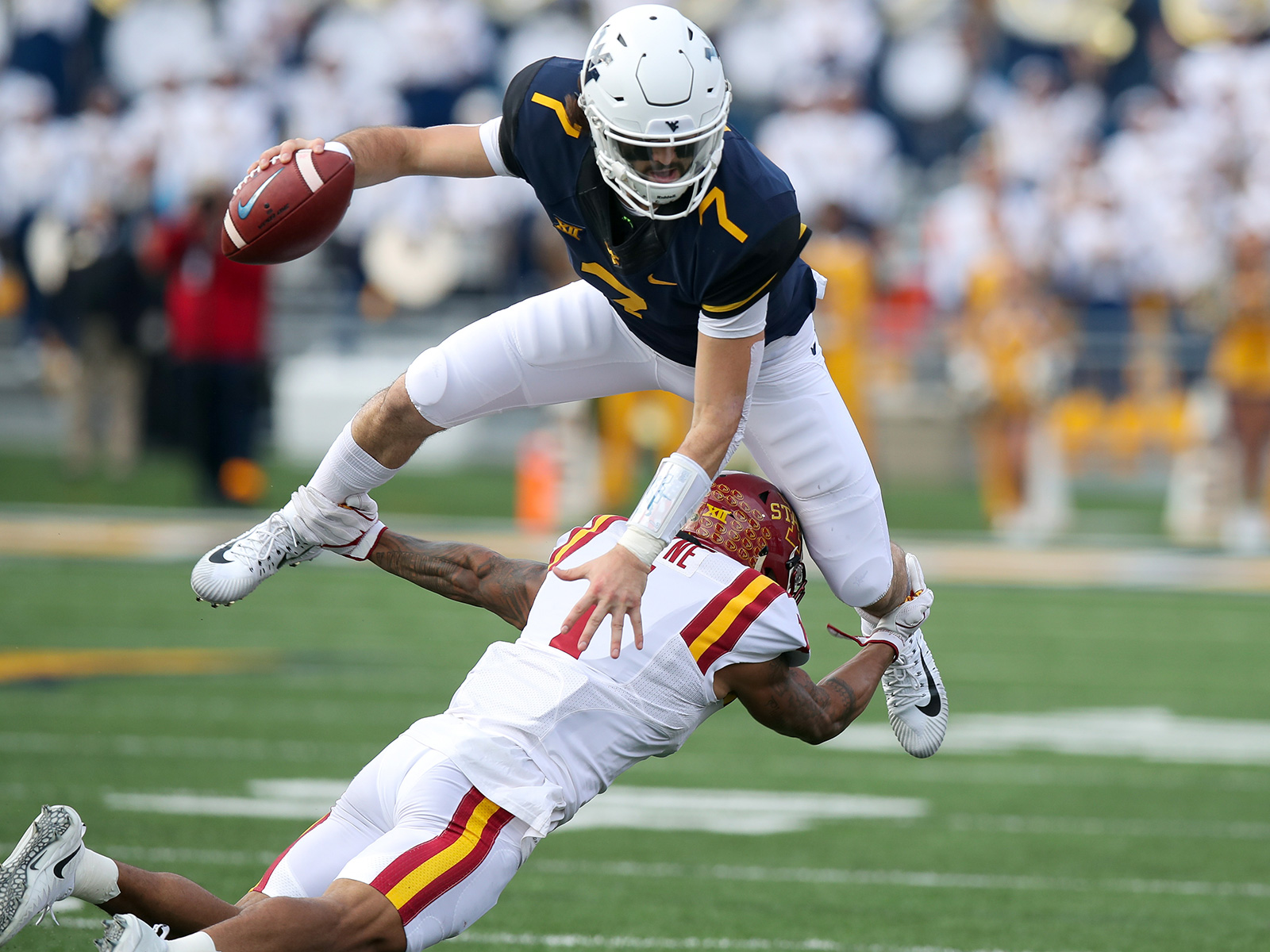 COLLEGE FOOTBALL: NOV 04 Iowa State at West Virginia