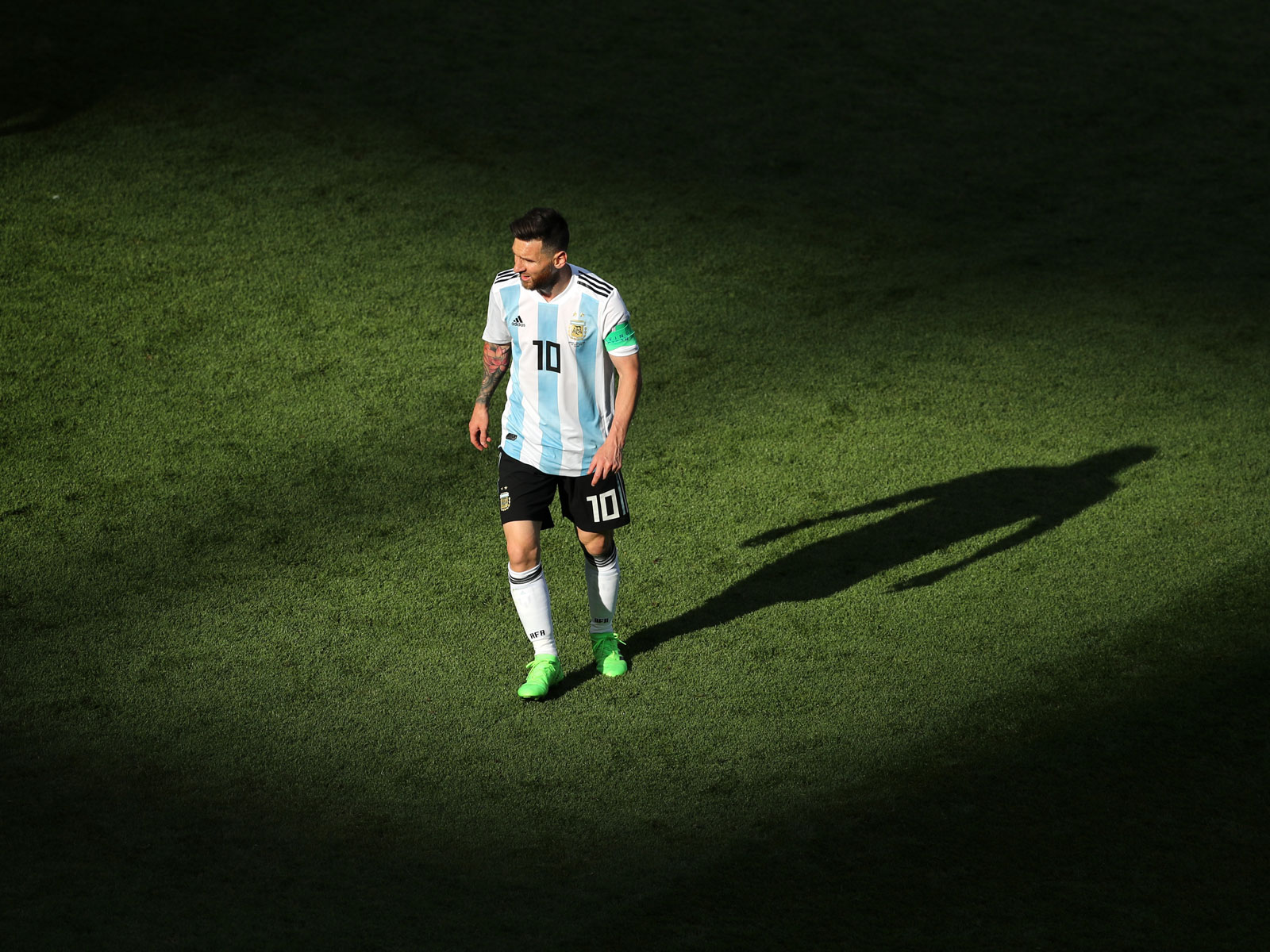 Lionel Messi and Argentina were eliminated in the World Cup round of 16