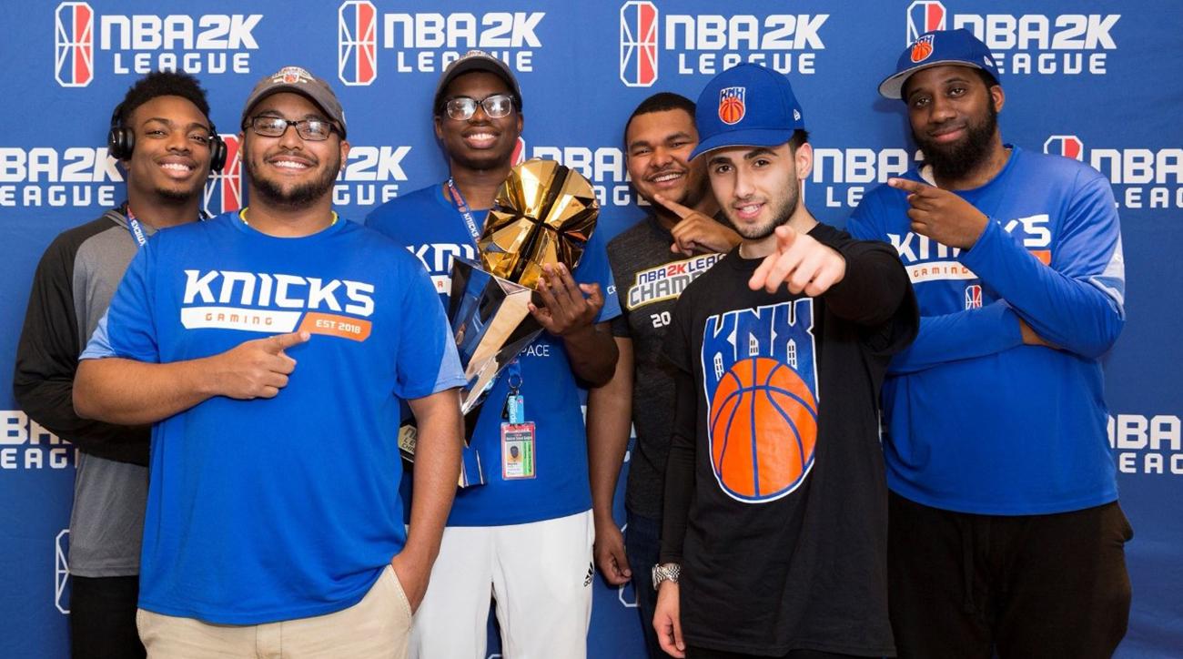 NBA 2K League  Dream Come True for Knicks Gaming  fcfa46b0a