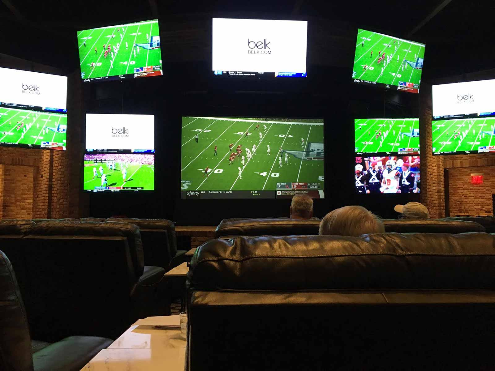 The Beau Rivage sports book in Biloxi