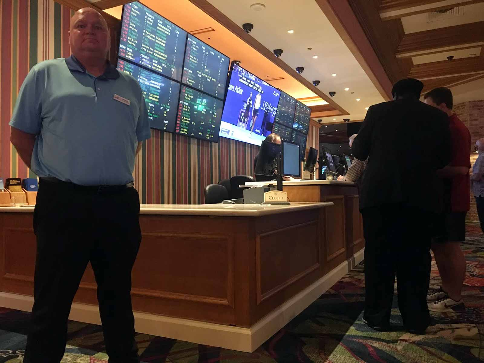 Beau Rivage sports book director Will Hall