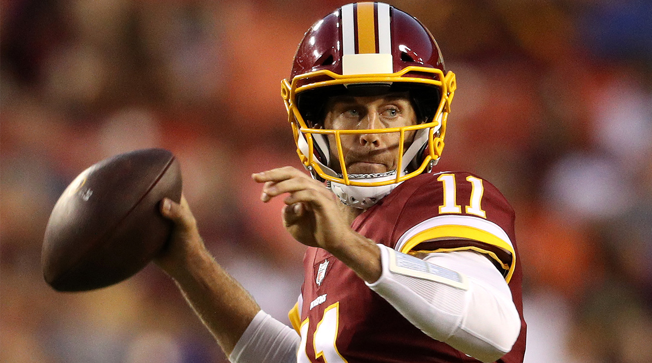 Redskins QB Alex Smith