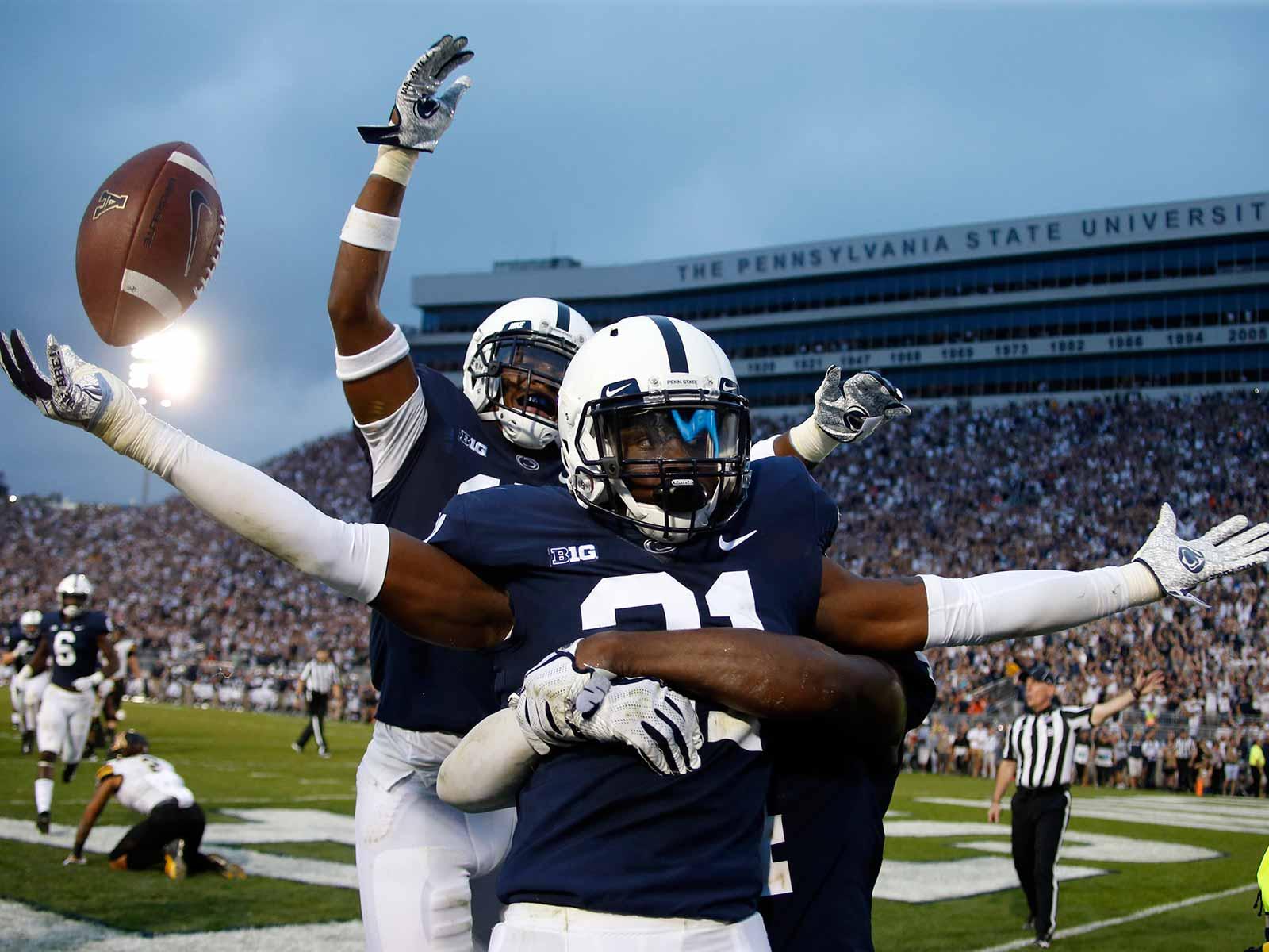 Amani Oruwariye interception seals Penn State win over App State