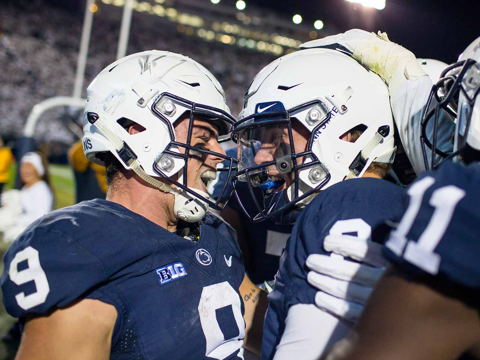 Trace McSorley and Tommy Stevens