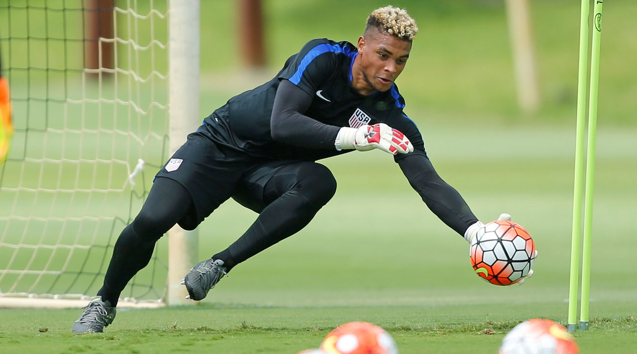 Zack Steffen is in line to be the USA's goalkeeper for the future