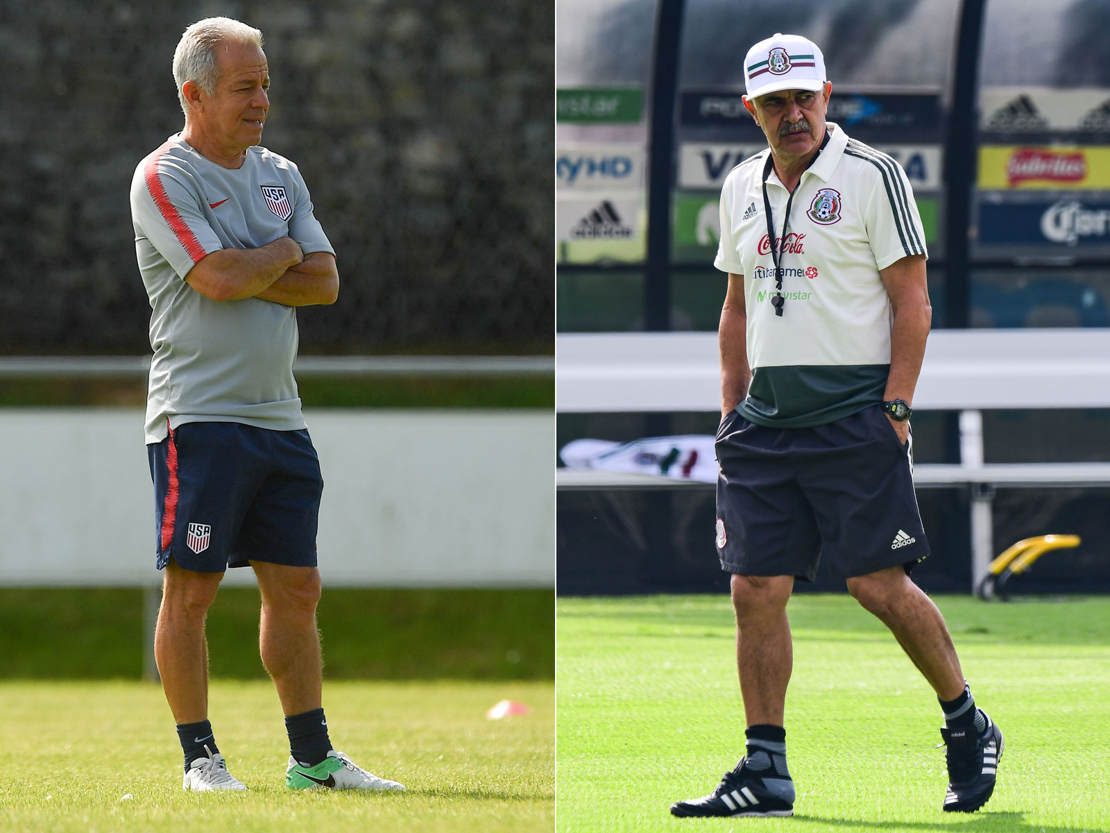 Dave Sarachan and Tuca Ferretti are interim coaches for the USA and Mexico