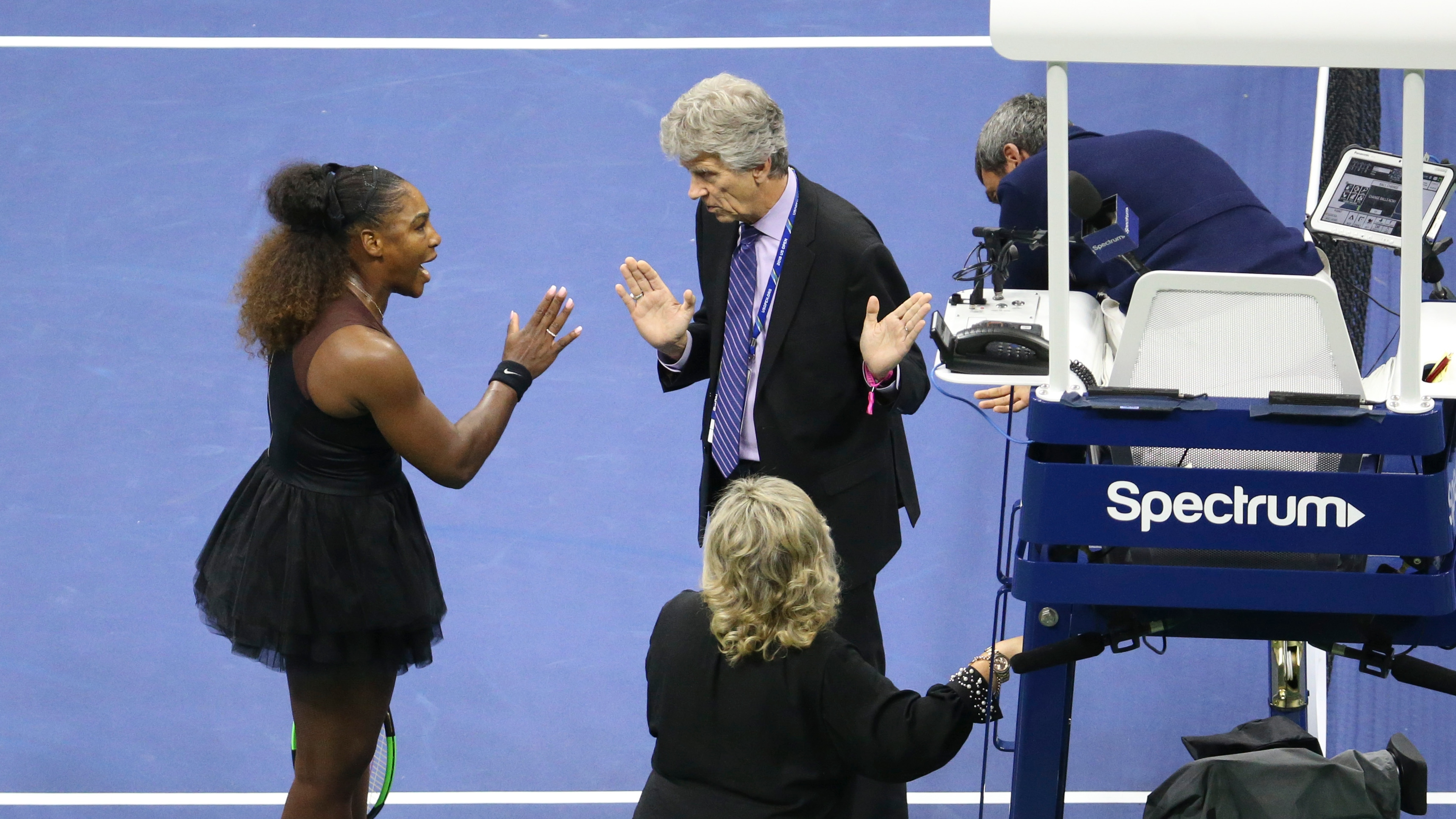 US Open parting thoughts serena williams controversy umpire