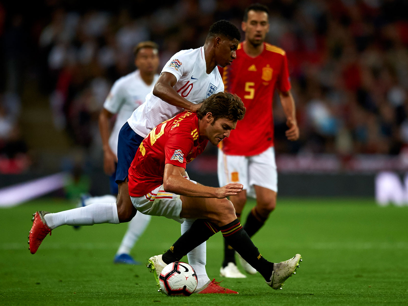 Spain beats England in the UEFA Nations League