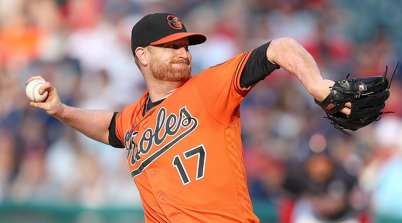 Baltimore Orioles Alex Cobb