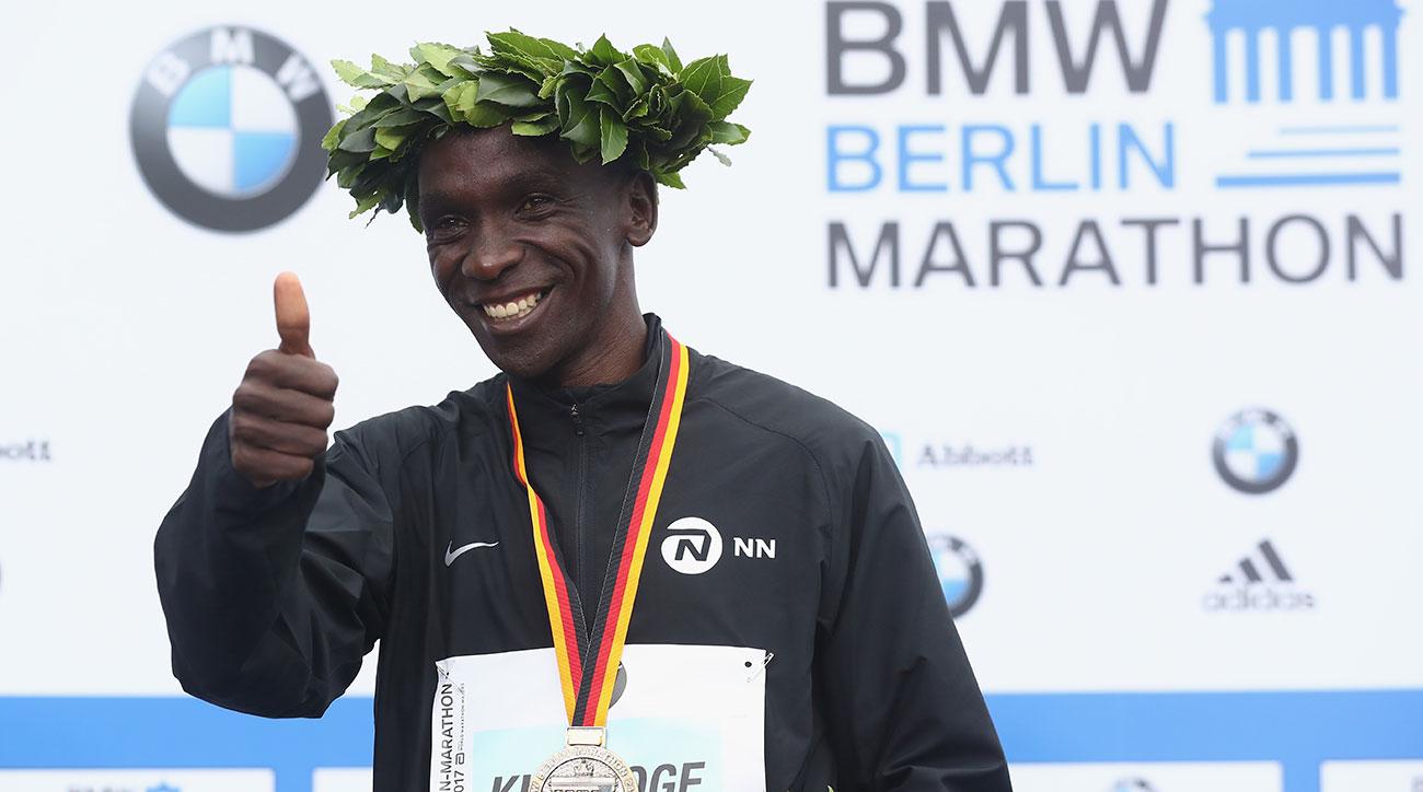 eliud kipchoge berlin marathon 2018 world record attempt