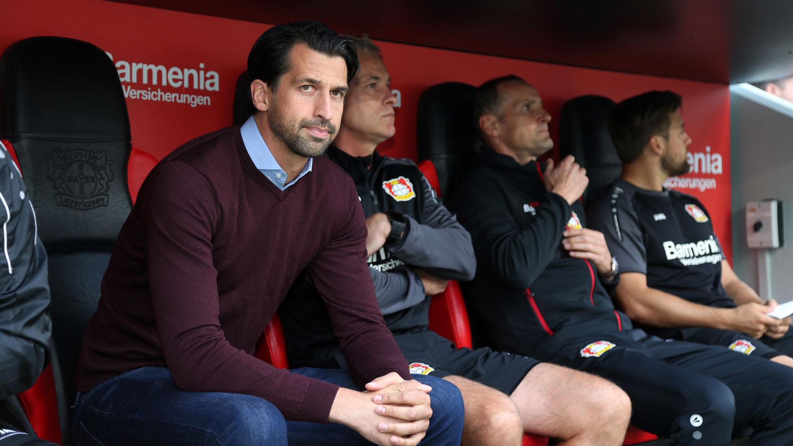 Jonas Boldt is Bayer Leverkusen's sporting director