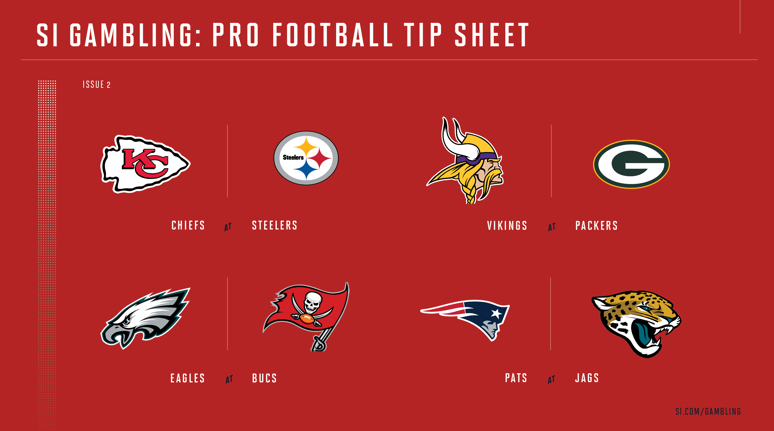 image relating to Printable Nfl Week 2 Schedule referred to as Weekly Suggestion Sheet: The Extensive Printable Betting Direct toward