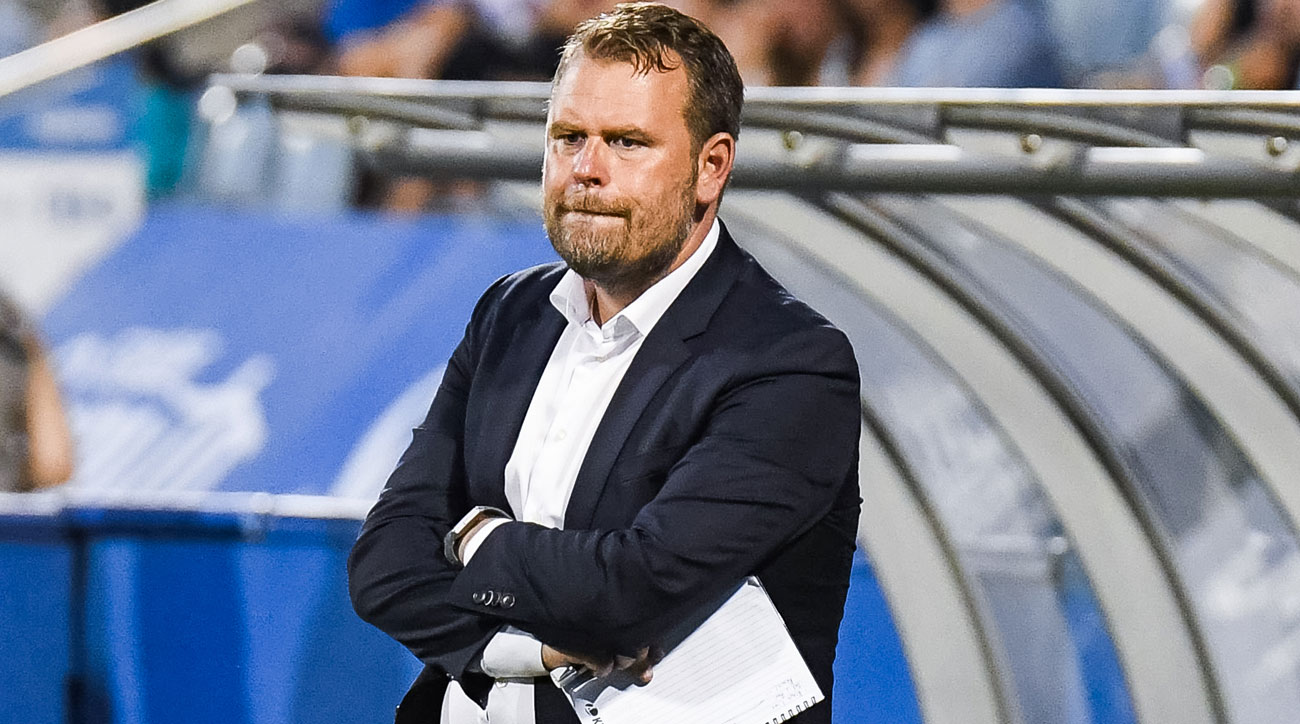 Mikael Stahre is out as San Jose Earthquakes manager