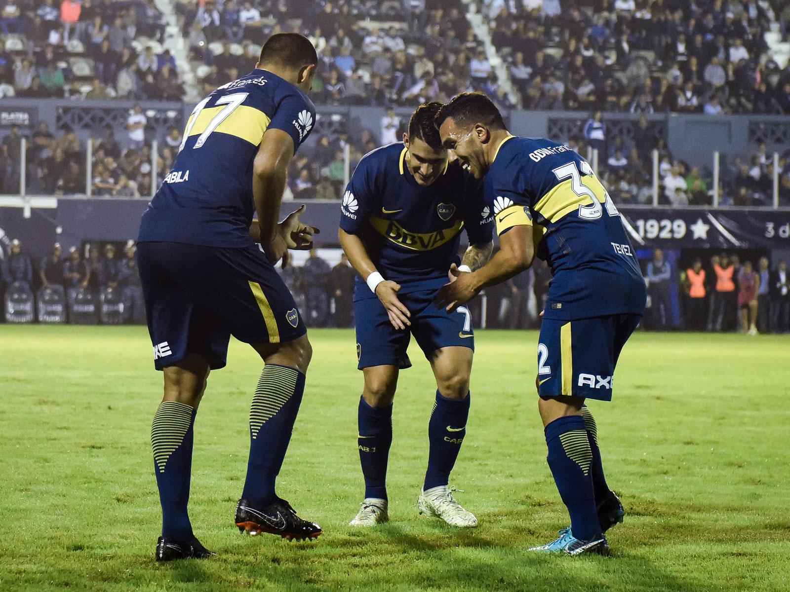Carlos Tevez is back with Boca Juniors