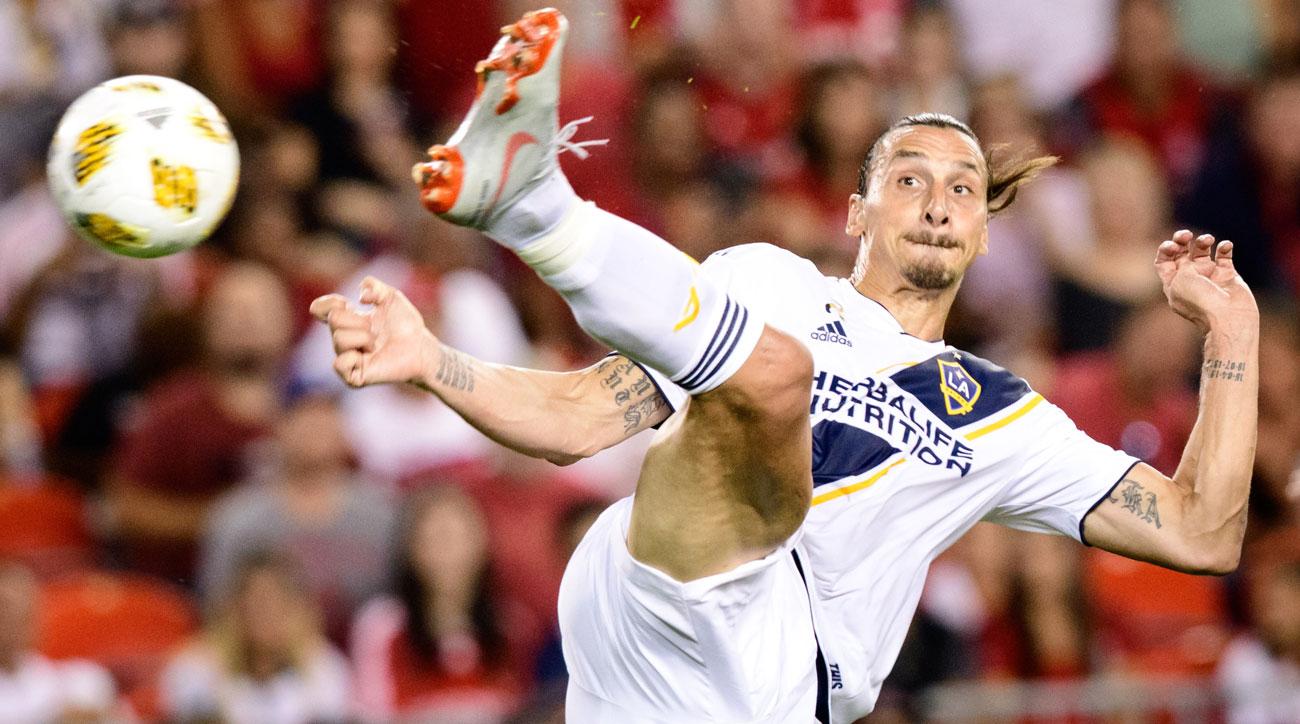 Zlatan Ibrahimovic scored an outrageous goal against Toronto FC