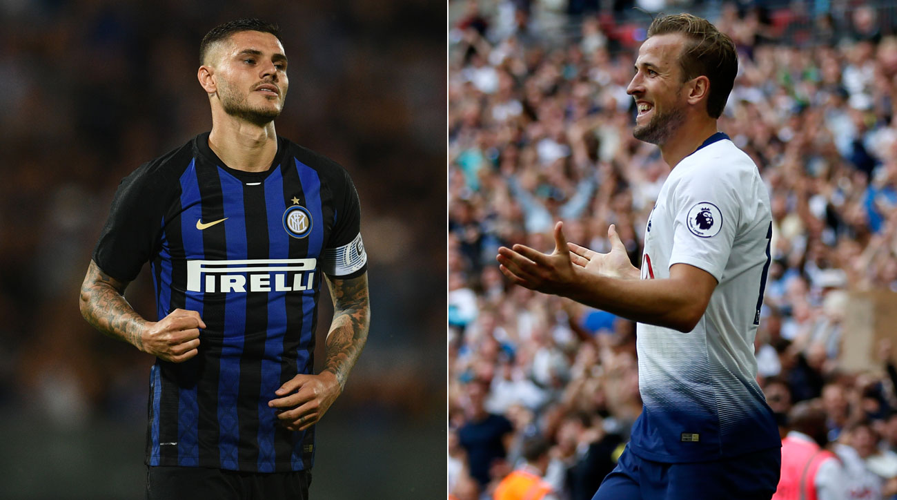 Inter Milan hosts Tottenham in the Champions League
