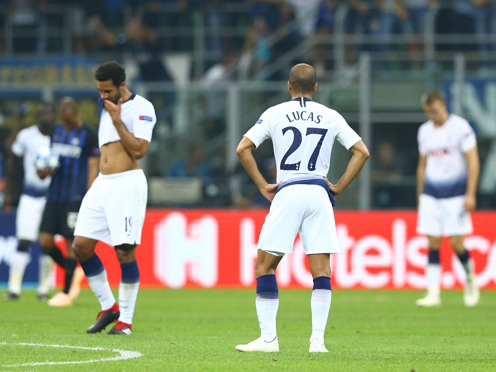 Tottenham loses to Inter Milan in Champions League