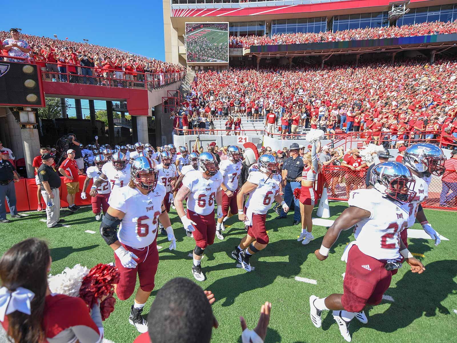 Troy vs. Nebraska: Trojans win at Memorial Stadium