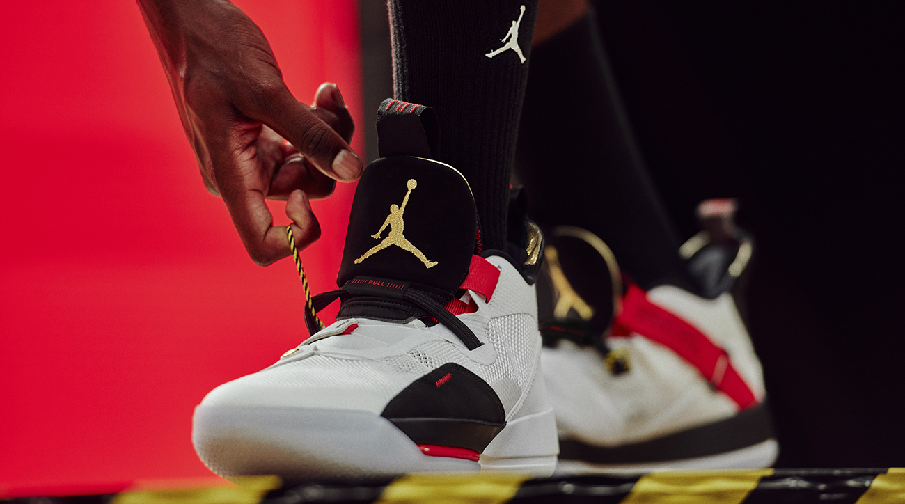 <p>The Air Jordan XXXIII is the brand's boldest design in years. The sneaker introduces consumers to FastFit that gets rids of laces and creates ultimate lockdown. </p>