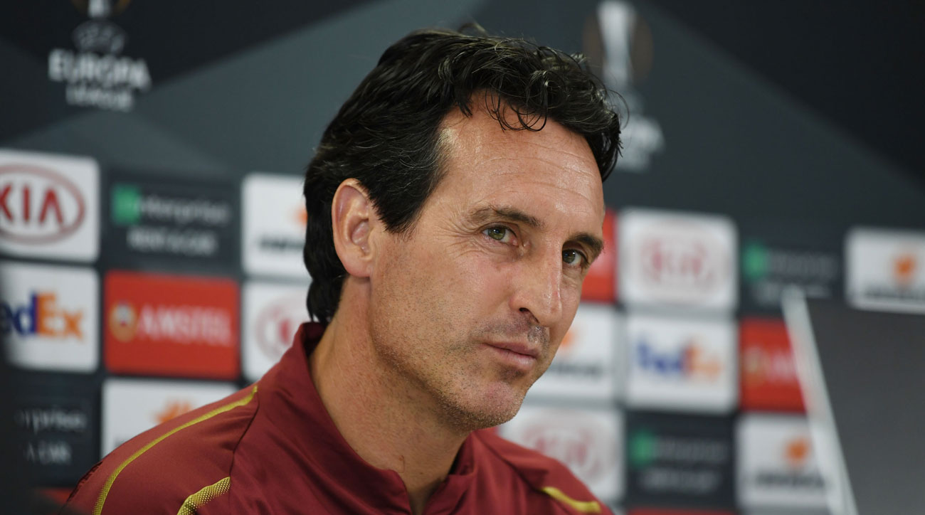 Unai Emery leads Arsenal vs Vorskla in the Europa League
