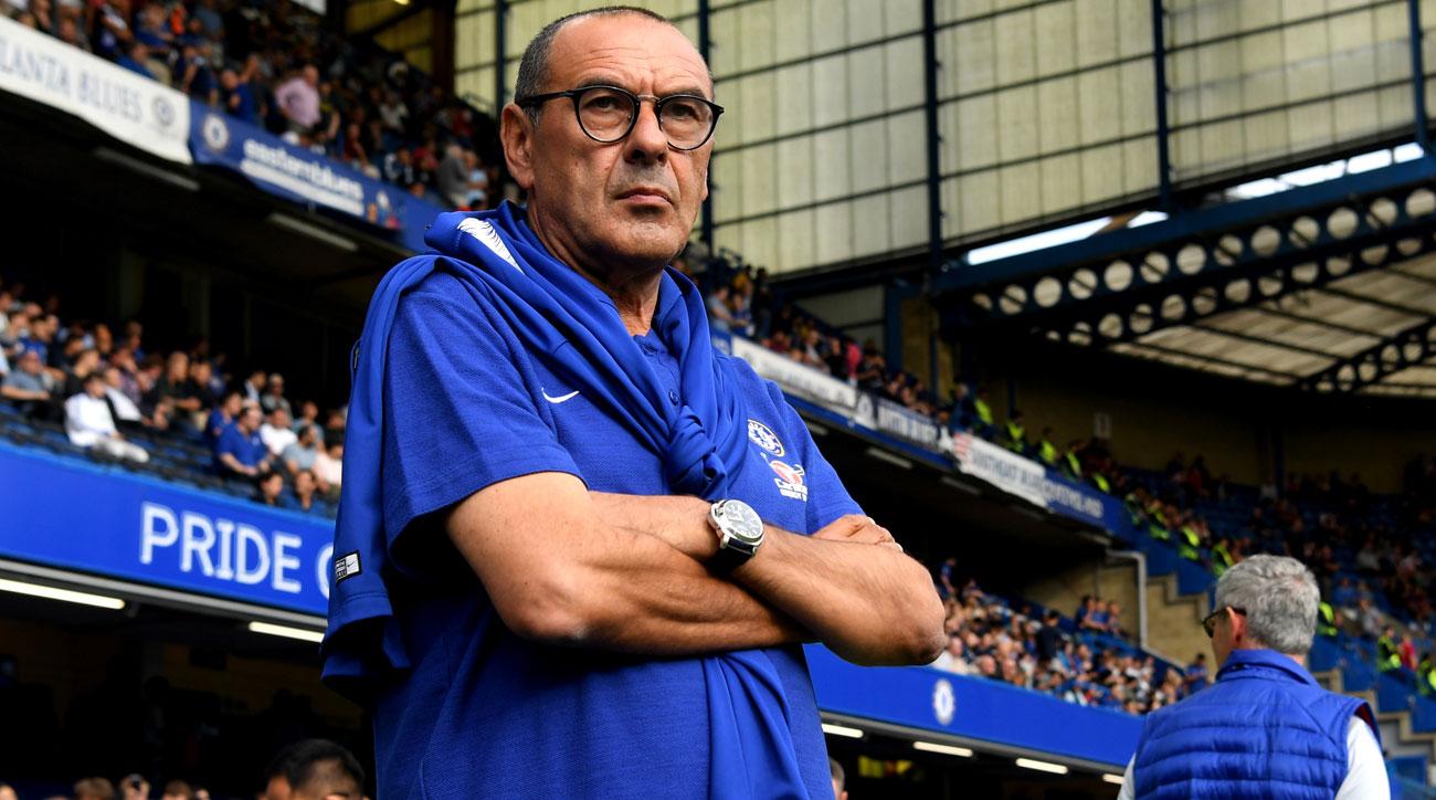 Maurizio Sarri has enjoyed success at Chelsea FC