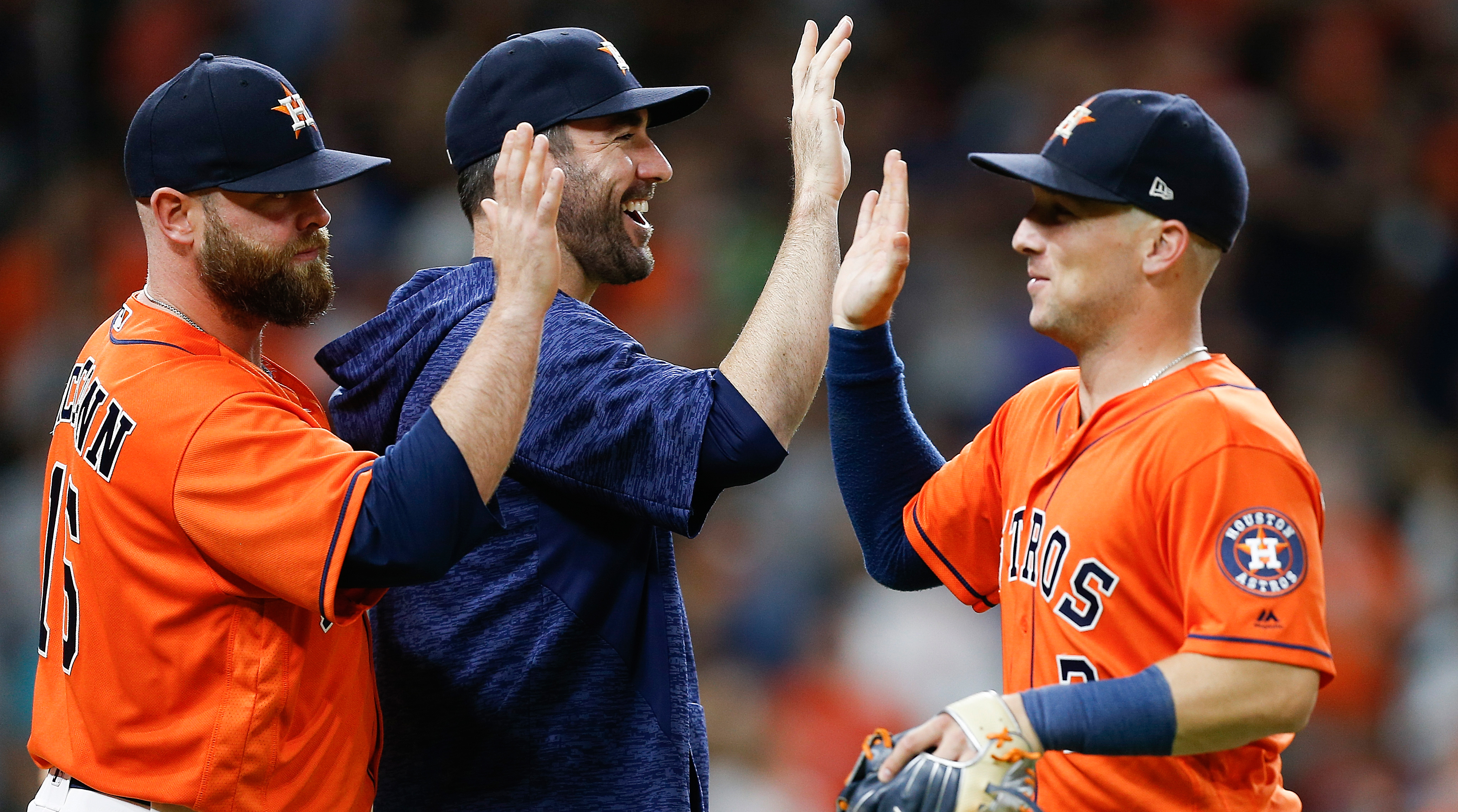 Astros Clinch Playoff Berth With Friday Win Over Angels   Sports Illustrated