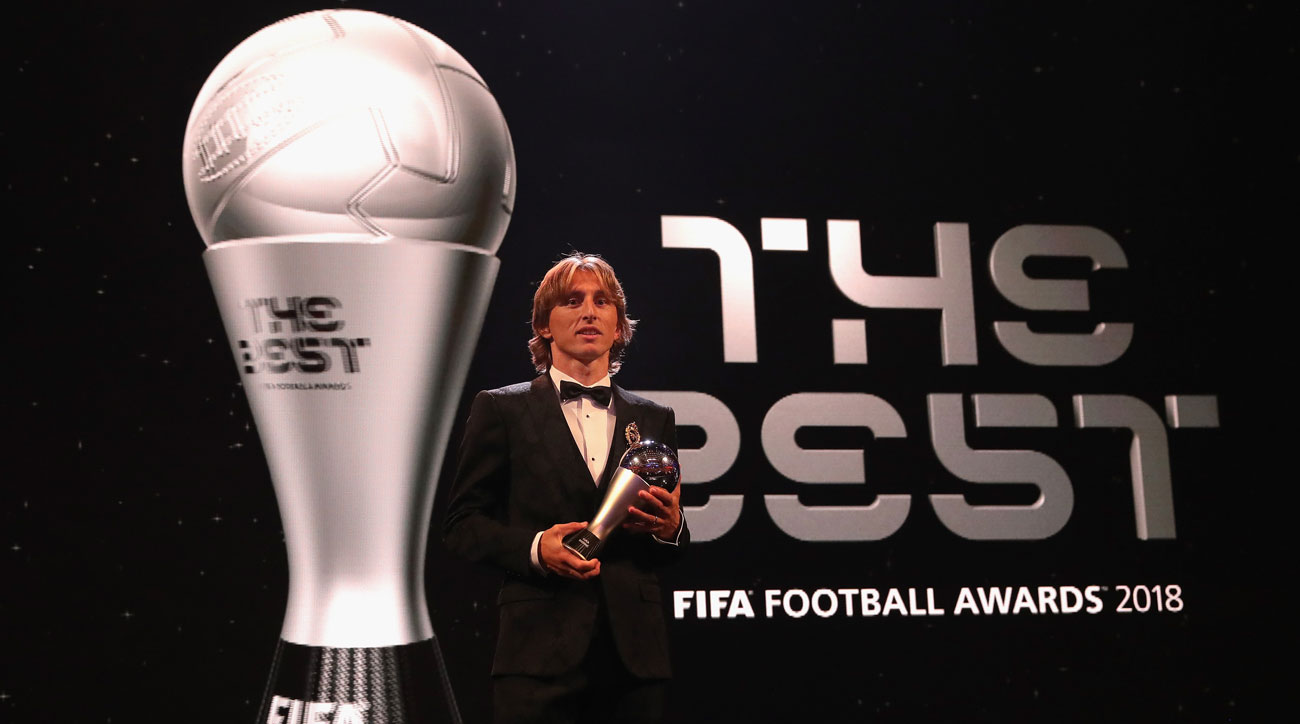 Luka Modric wins FIFA's 'The Best' Award