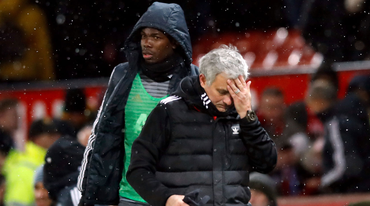 Paul Pogba and Jose Mourinho are at odds at Manchester United