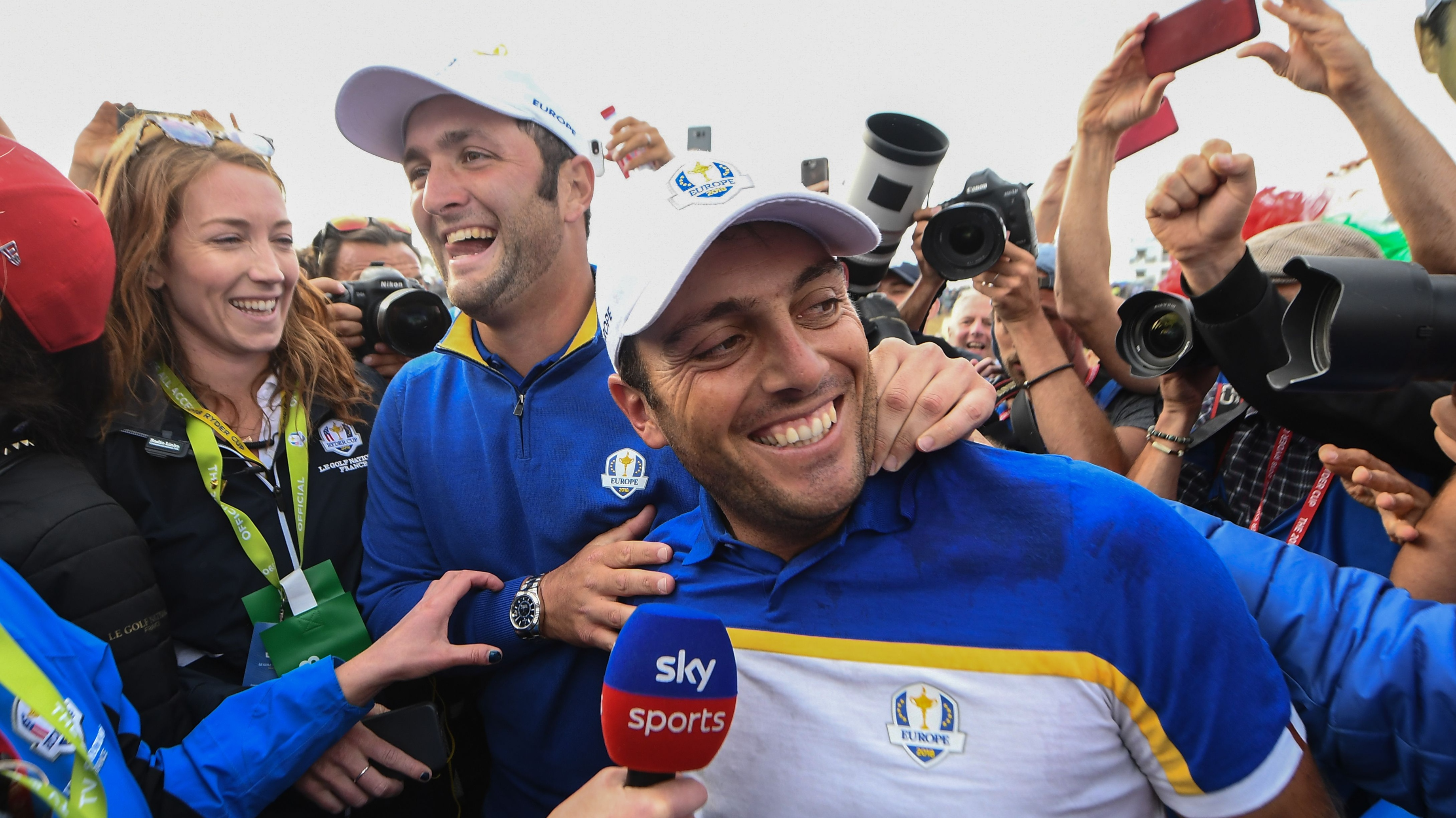 Europe wins ryder cup le golf national