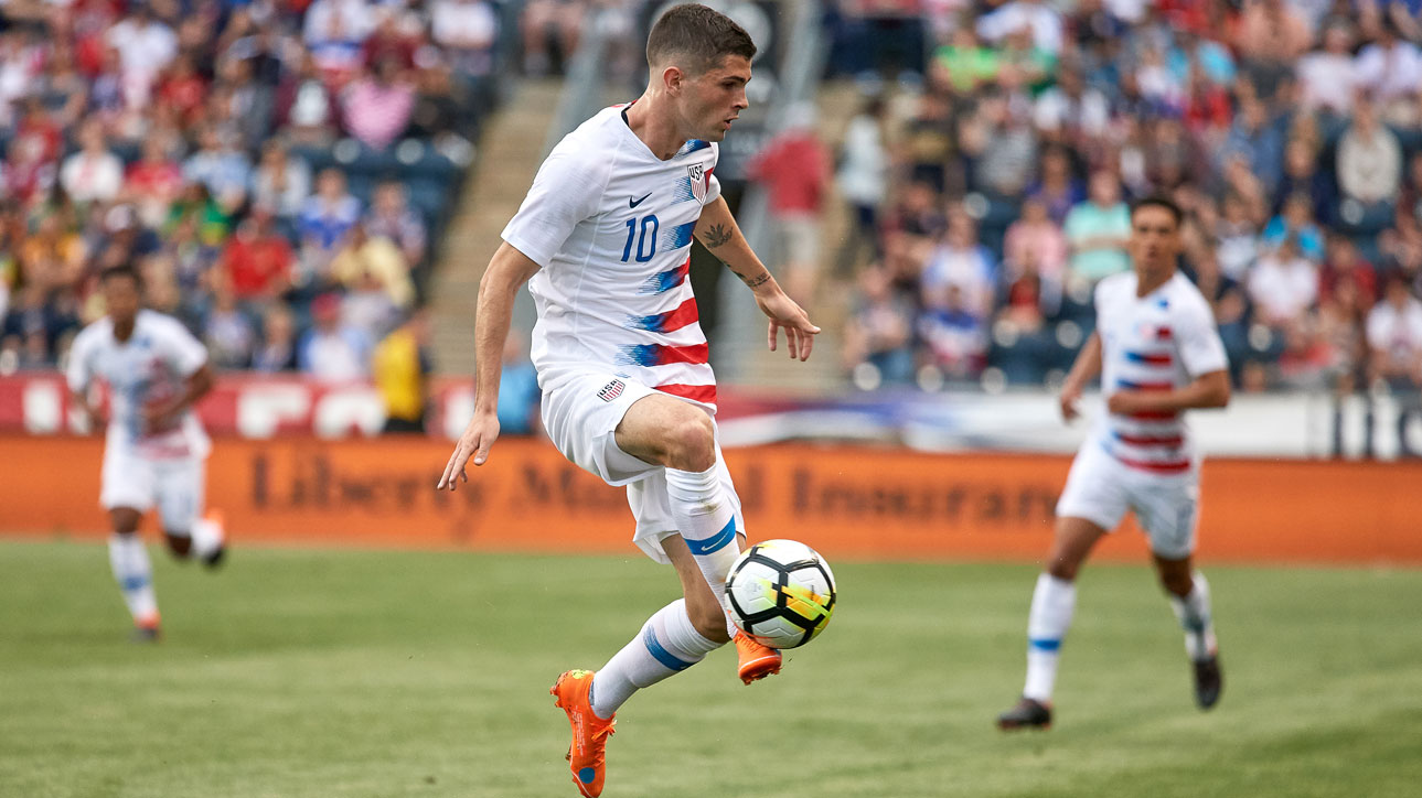 Christian Pulisic is back with the U.S. men's national team