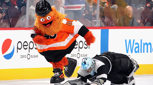gritty becomes symbol at philly protests