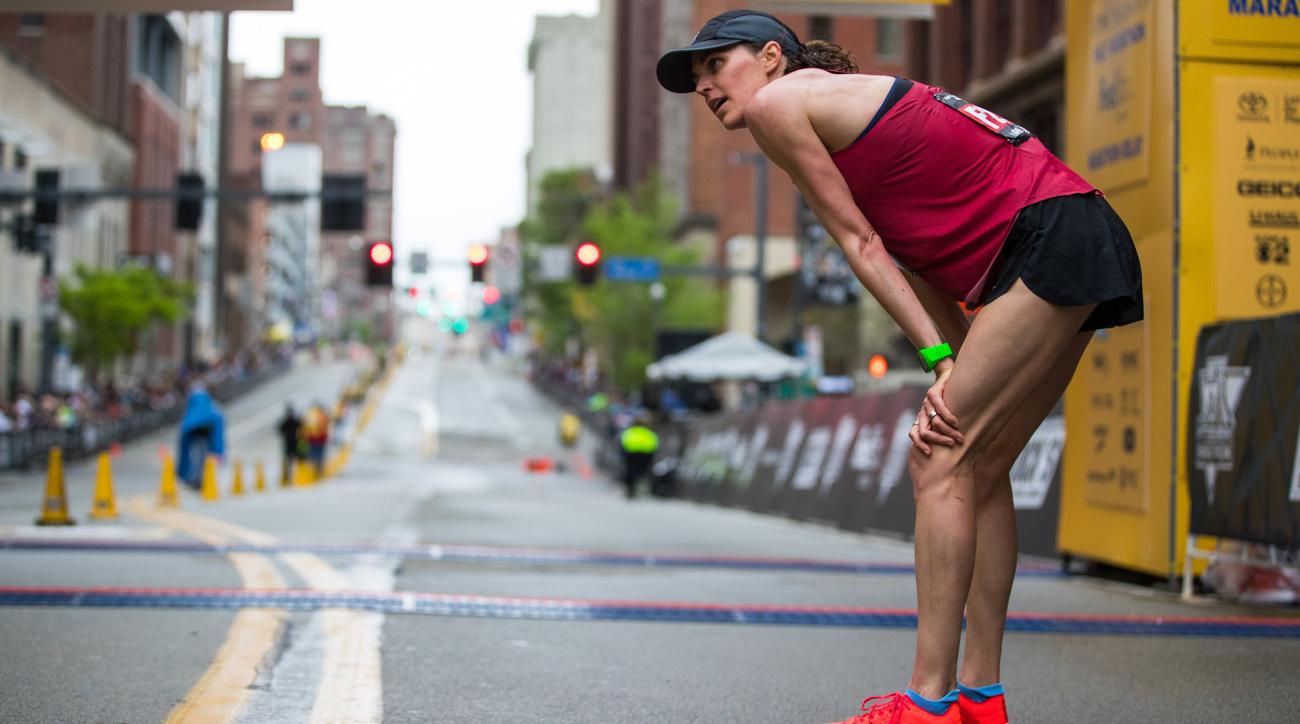 gwen jorgensen chicago marathon 2018