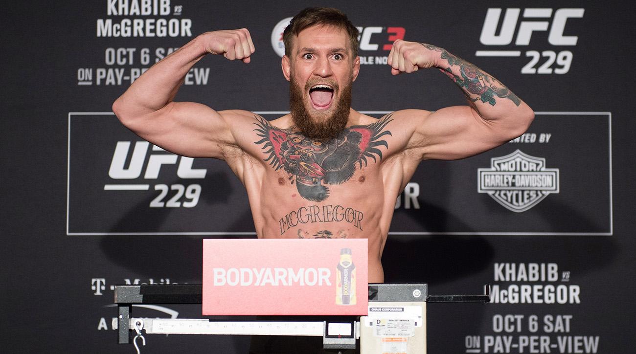 UFC 229: Weigh-ins