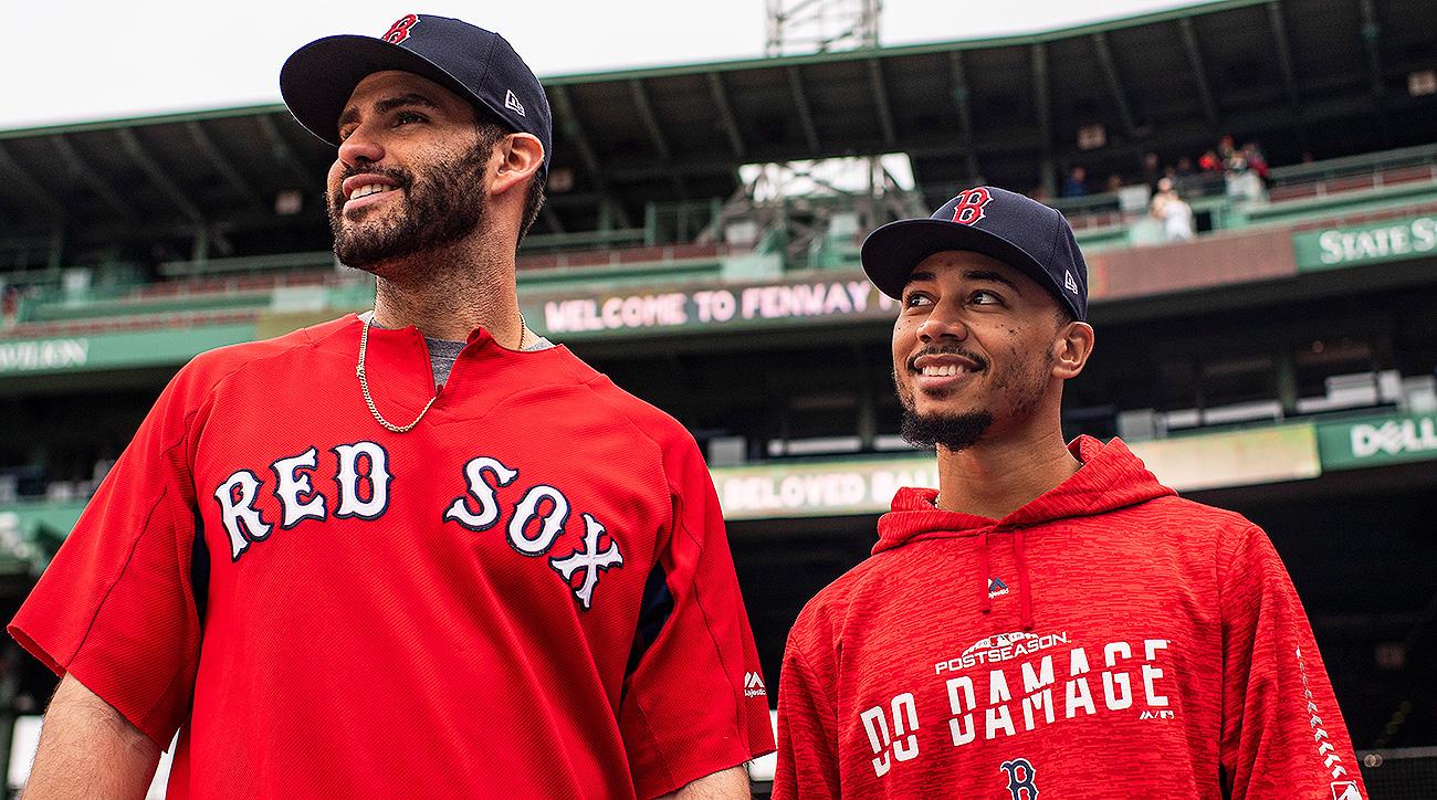 Boston Red Sox Mookie Betts