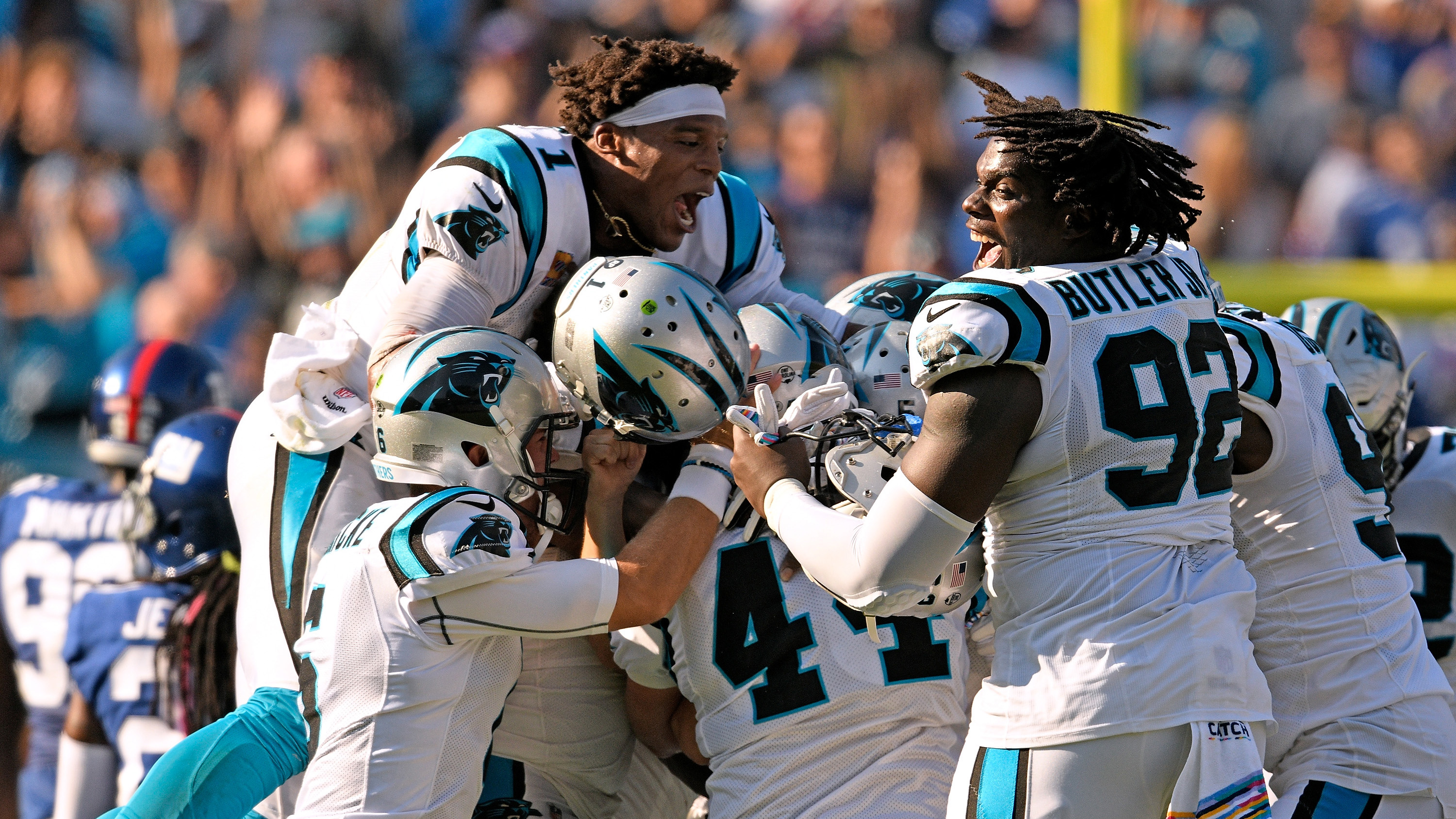 Graham Gano: Panthers-Giants finish ruined by Fox