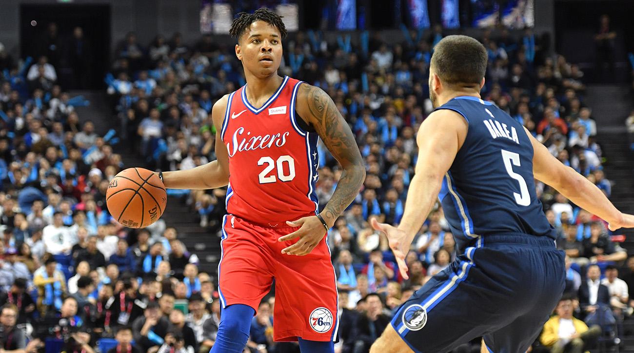 2018 China Games - Dallas Mavericks v Philadelphia 76ers