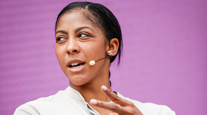 candace parker agrees with turner sports nba analyst