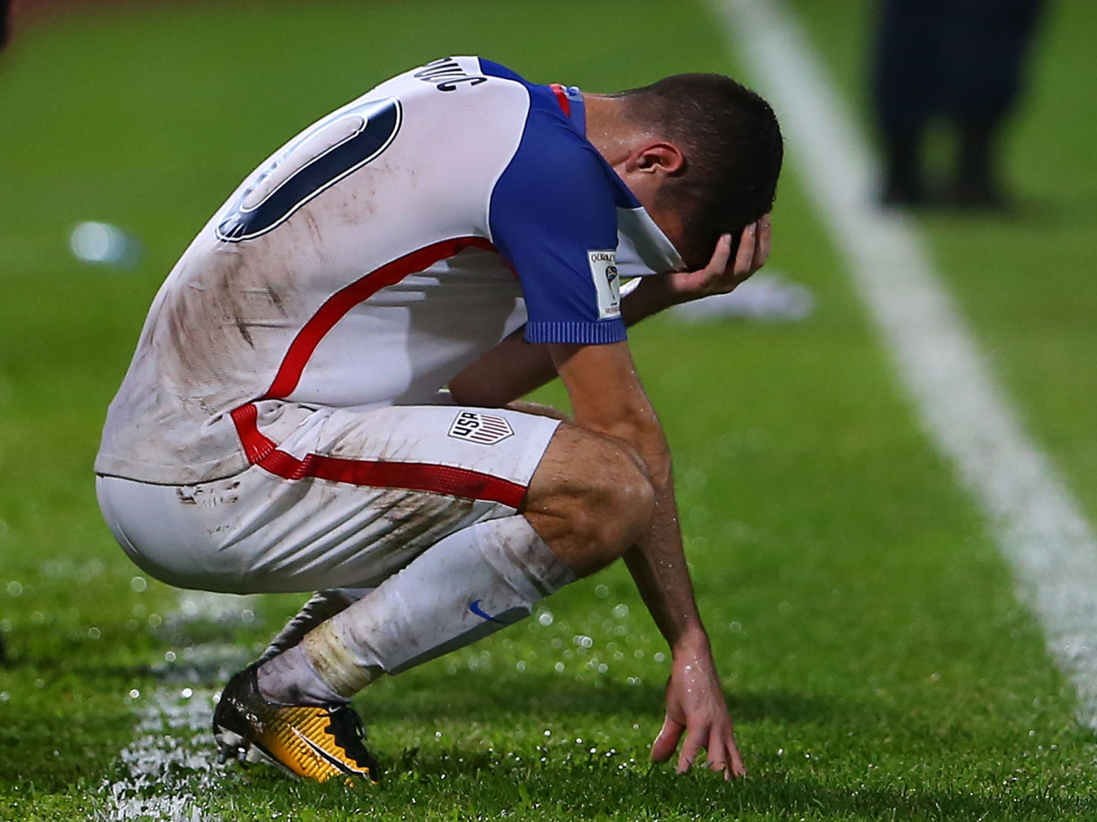 Christian Pulisic and the USMNT failed to qualify for the 2018 World Cup