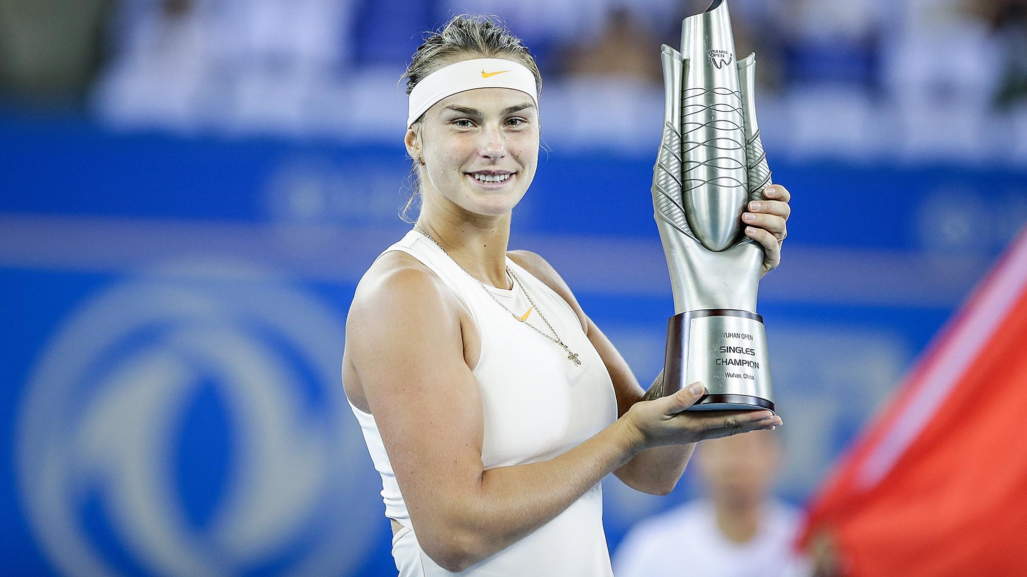 Aryna Sabalenka Wuhan Open
