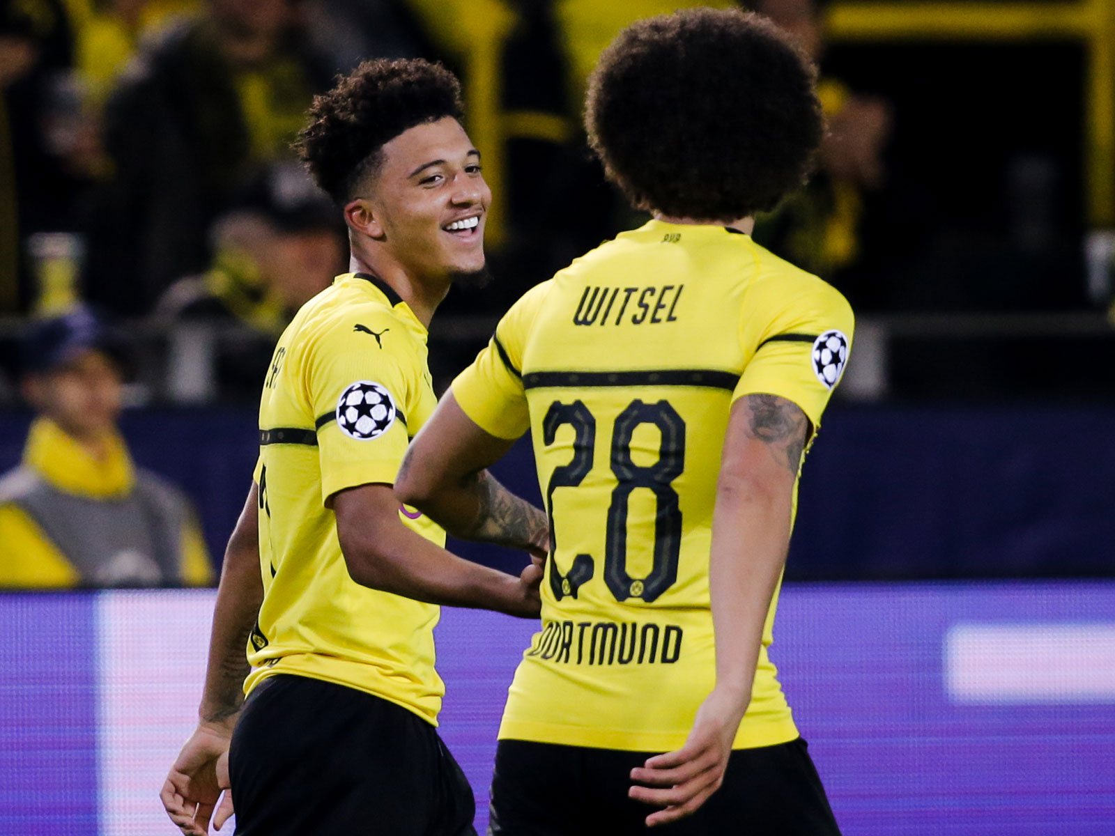 Jadon Sancho has starred at Borussia Dortmund