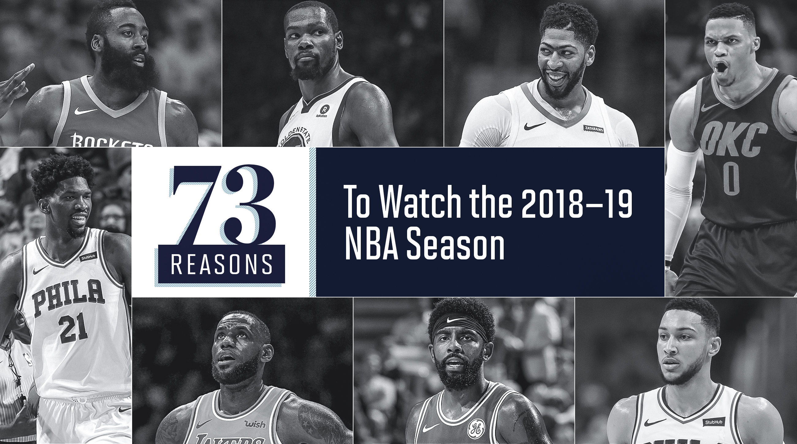 1ba073386e61 2018-19 NBA Season  73 reasons to watch