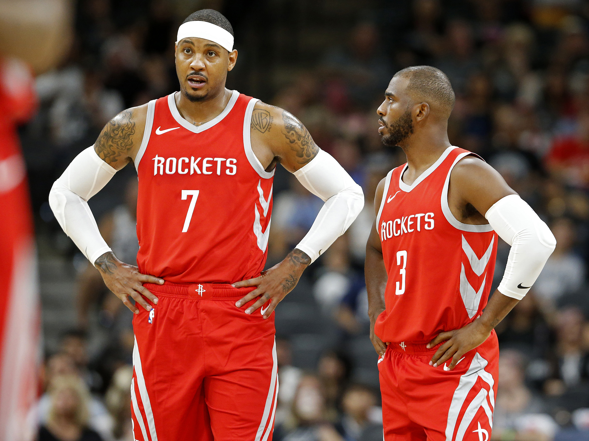 The Rockets Have Caught The Carmelo Anthony Flu