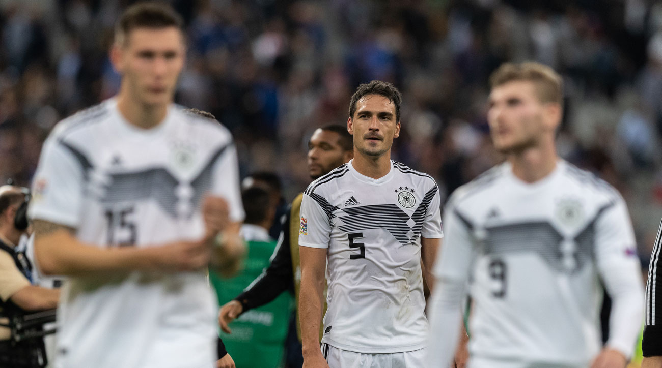 Germany has struggled since a shocking World Cup ouster