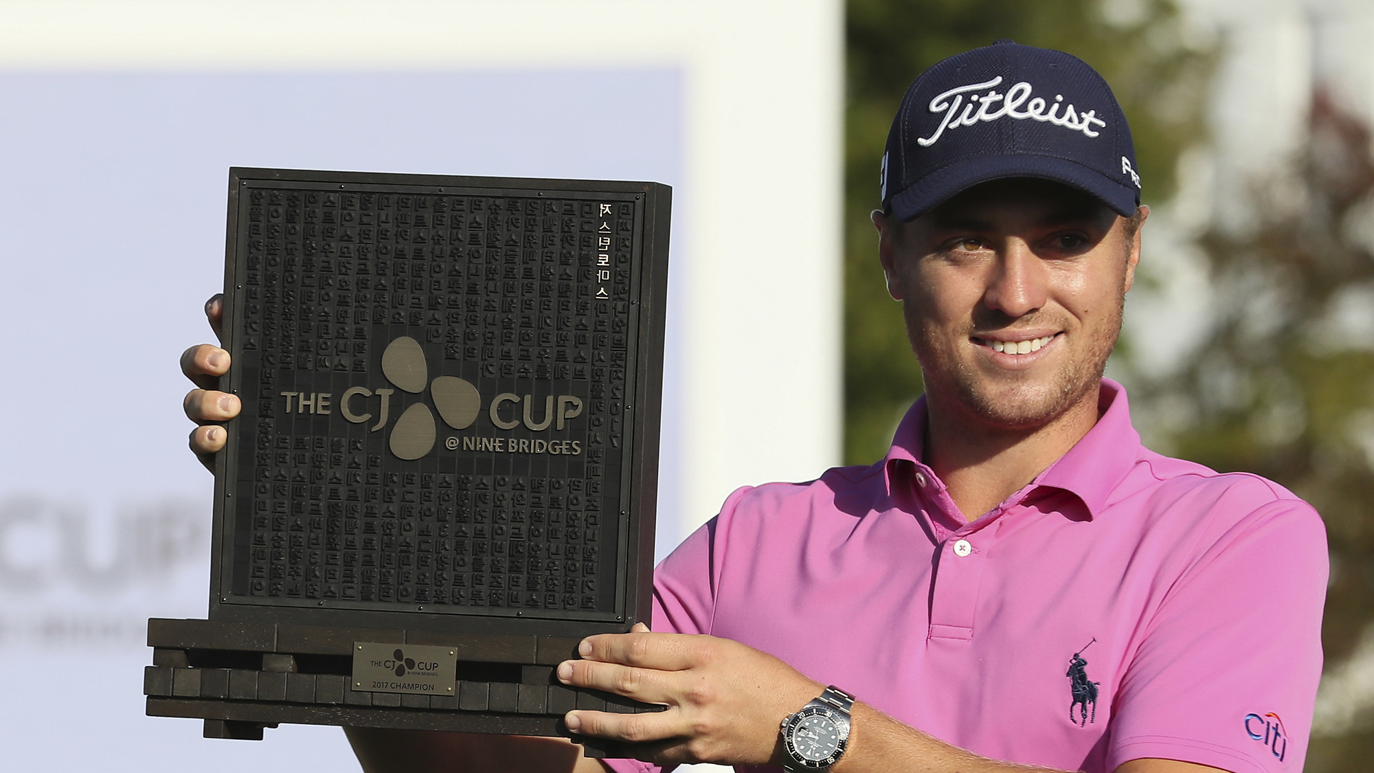 Justin Thomas CJ Cup how to watch korea