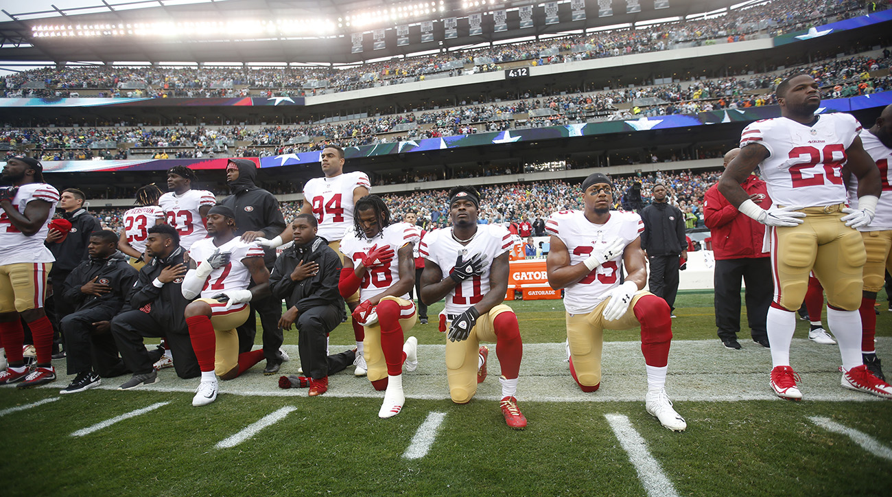 roger goodell, roger goodell NFL National Anthem Policy, national anthem protest, colin kaepernick, eric reid