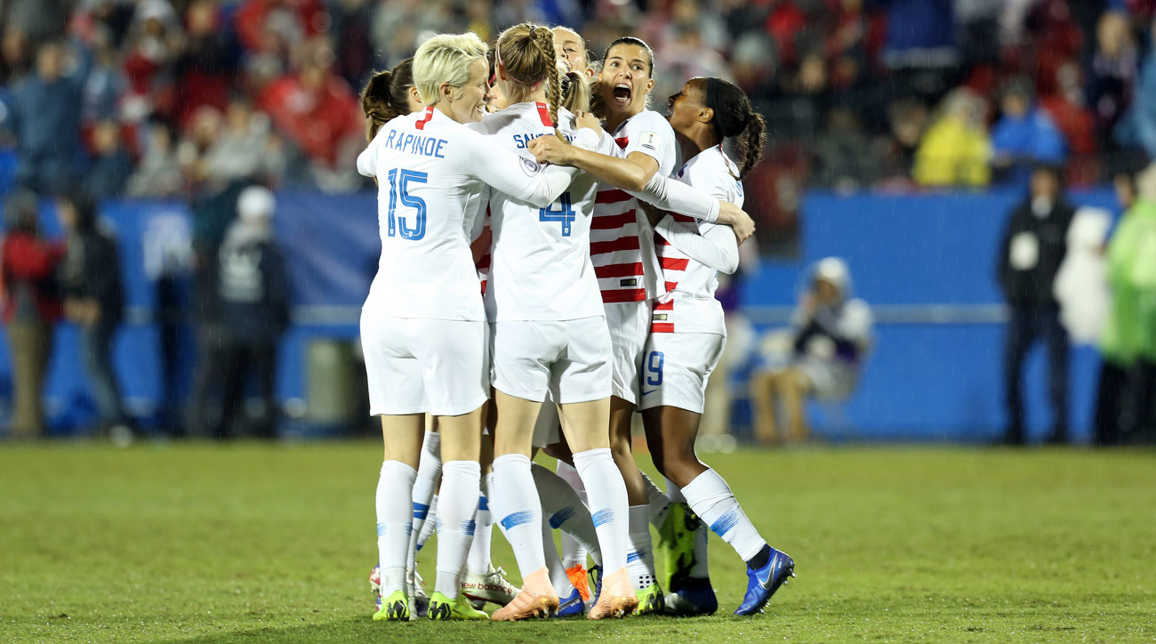 The USWNT faces Canada in the Concacaf Women's Championship