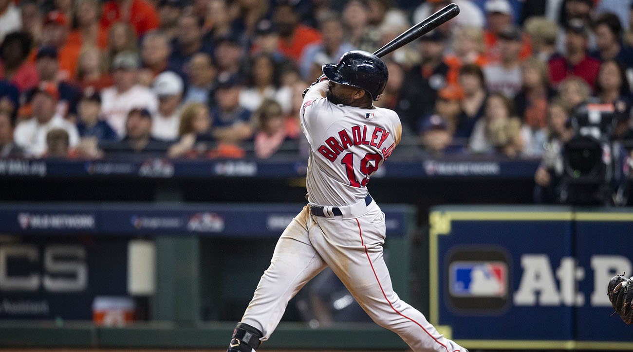 League Championship Series - Boston Red Sox v Houston Astros - Game Four (G)