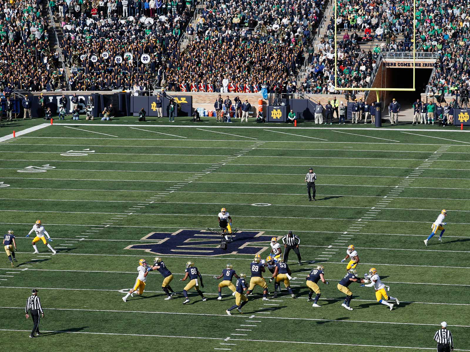 Notre Dame vs. Pitt