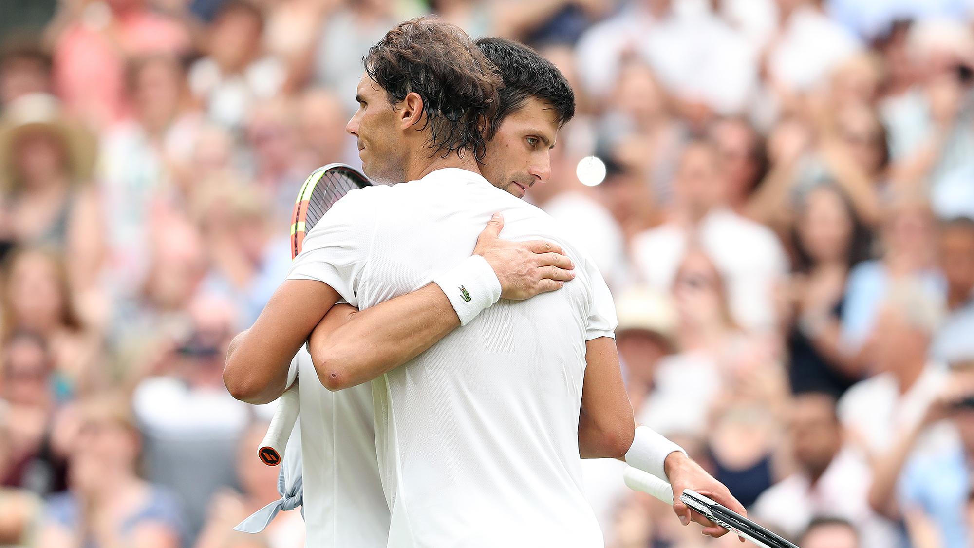 Rafael nadal Novak Djokovic saudi arabia exhibition